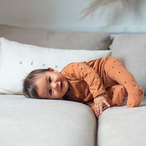 combinaison dots nut bonjour little pyjama bébé