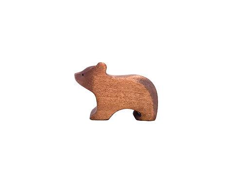ourson en bois brin d'ours