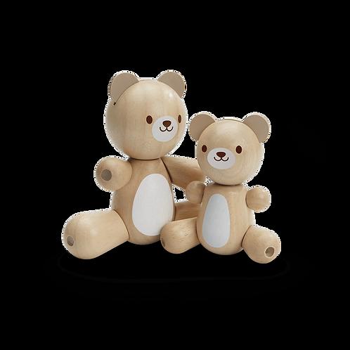 Ours et ourson - Plan Toys