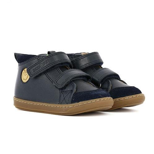 Chaussures Shoopom bi velcro navy
