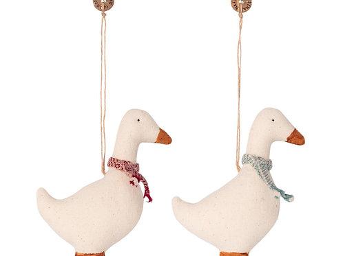 décoration Noël oies
