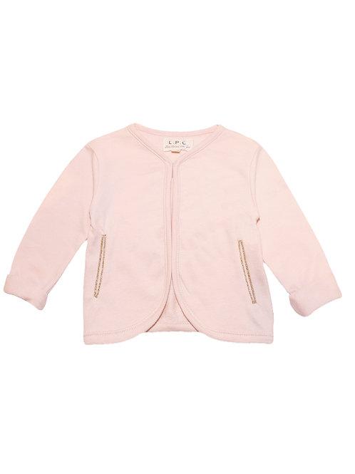 Cardigan soft pink LPC