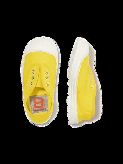 Tennis Elly jaune citron - Bensimon