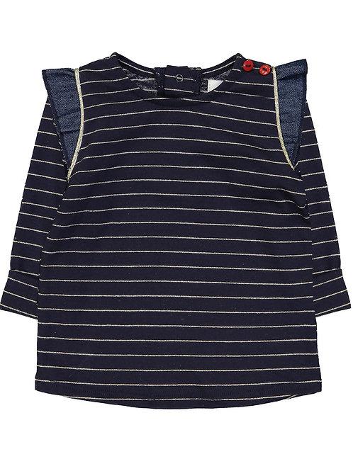 Tee-shirt in the navy Blune