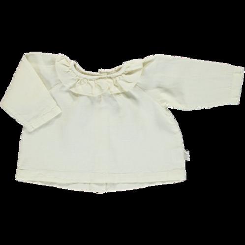 blouse charme poudre organic milk
