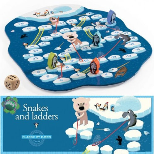 snakes and ladders djeco