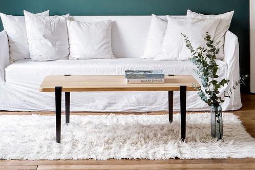 pieds table ou banc tiptoe noir