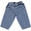 Pantalon Pomelos en denim clair poudre organic