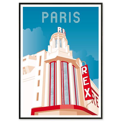 Affiche Paris, Le Grand Rex - Les Affichistes