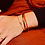 bracelet lily tangerine bangle up