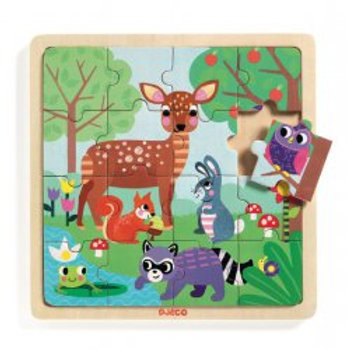 Puzzle foret Djeco