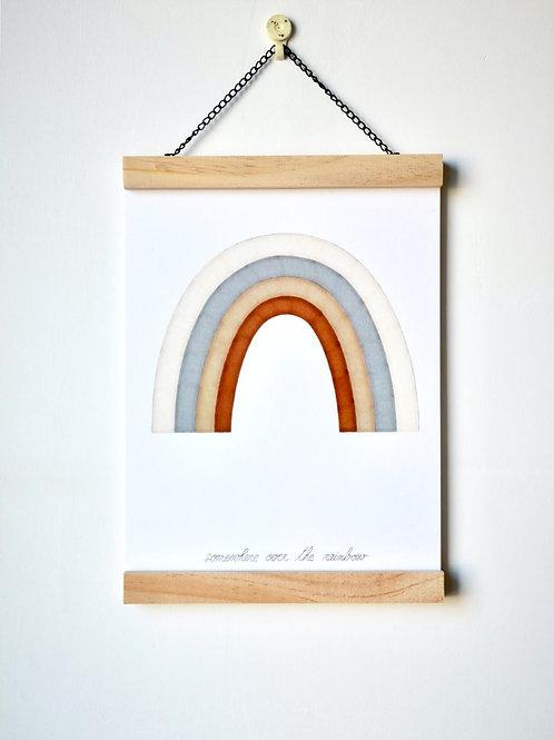 Affichette Rainbow Les Yeux Fripons