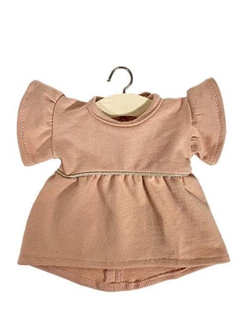 Robe Daisy en coton sweat - Minikane
