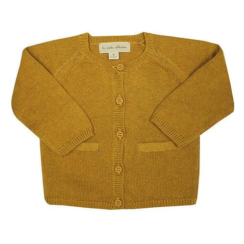 Gilet fin coton / laine La petite Collection