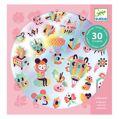 Stickers holographiques Lovely Rainbow - Djeco