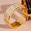 Thumbnail: Bracelet Gaya - Blanc Sable - Bangle Up