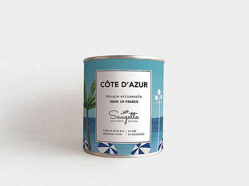 Bougie Saugette Côte d'Azur