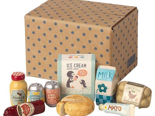 Miniature grocery box - Maileg