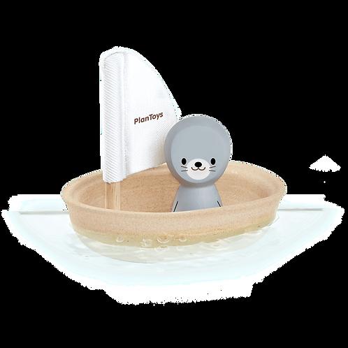 Bateau à voile phoque - Plan Toys