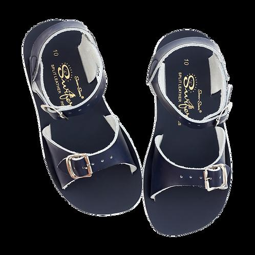 saltwater sandals surfer navy