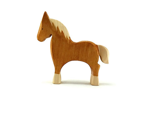 Cheval Palomino brin d'ours