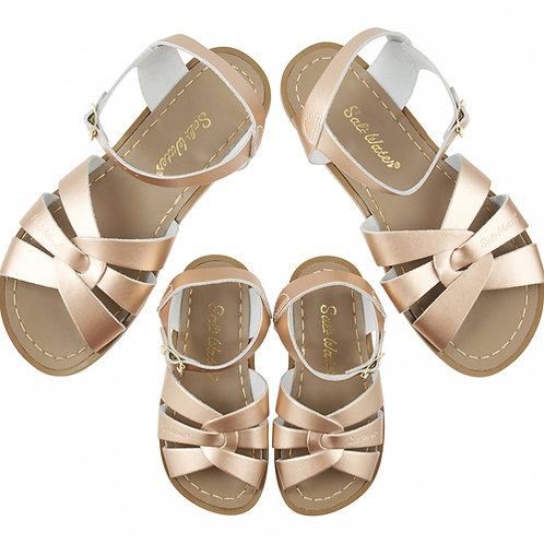 Sandalettes salt water original rose gold