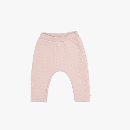 Pantalon matelassé soft pink LPC