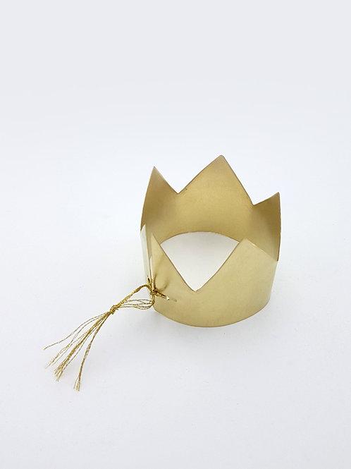 couronne laiton doré delphine plisson