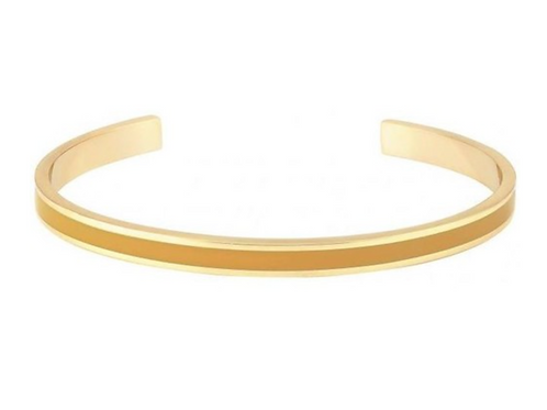 Jonc Bangle - Jaune Safran - Bangle Up