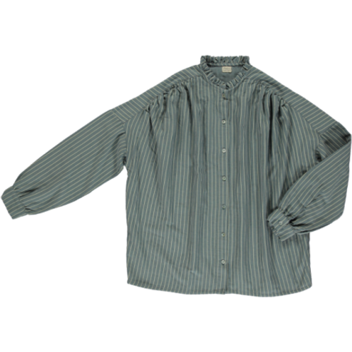 Blouse Amande Stormy Weather poudre organic madame