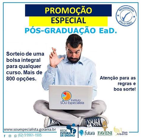 SORTEIO DA BOLSA INTEGRAL - Instituto So