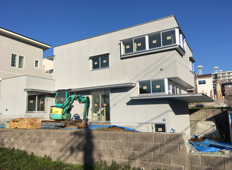 厚木の住宅 もうすぐ竣工