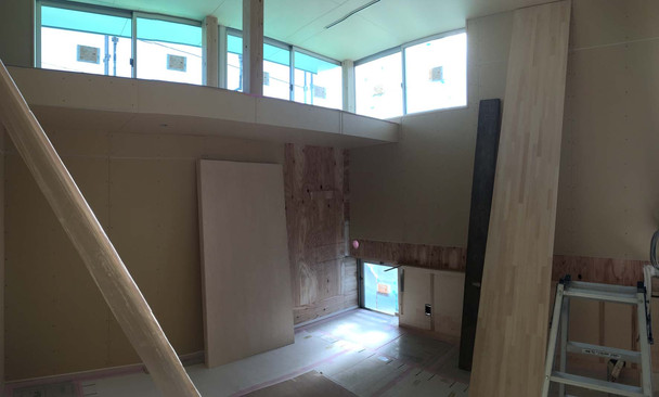 厚木の住宅 内装①