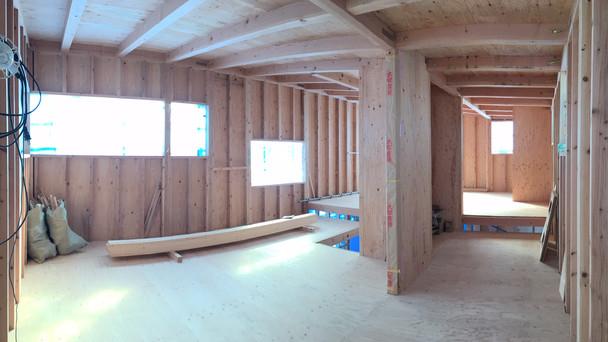 厚木の住宅 耐力壁