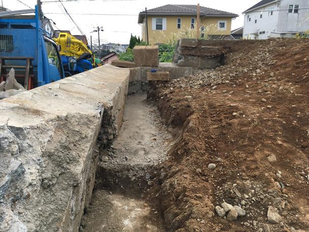 厚木の住宅 外構工事