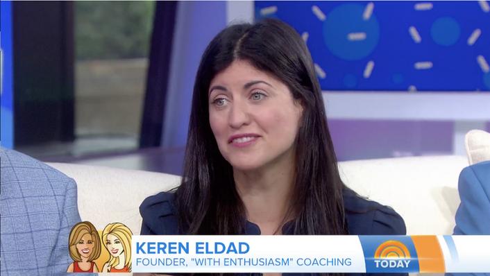Keren Eldad on the Today Show