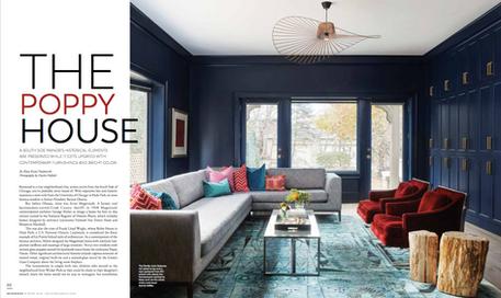 Jen Talbot Design in Modern Luxury Interiors