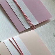 west island printing wedding invitation