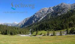 sommer Urlaub in Lech - der Lechweg