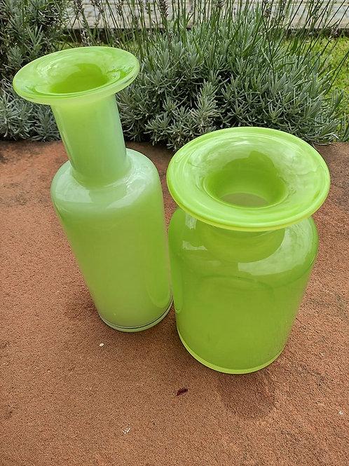 Vaso vidro colorido