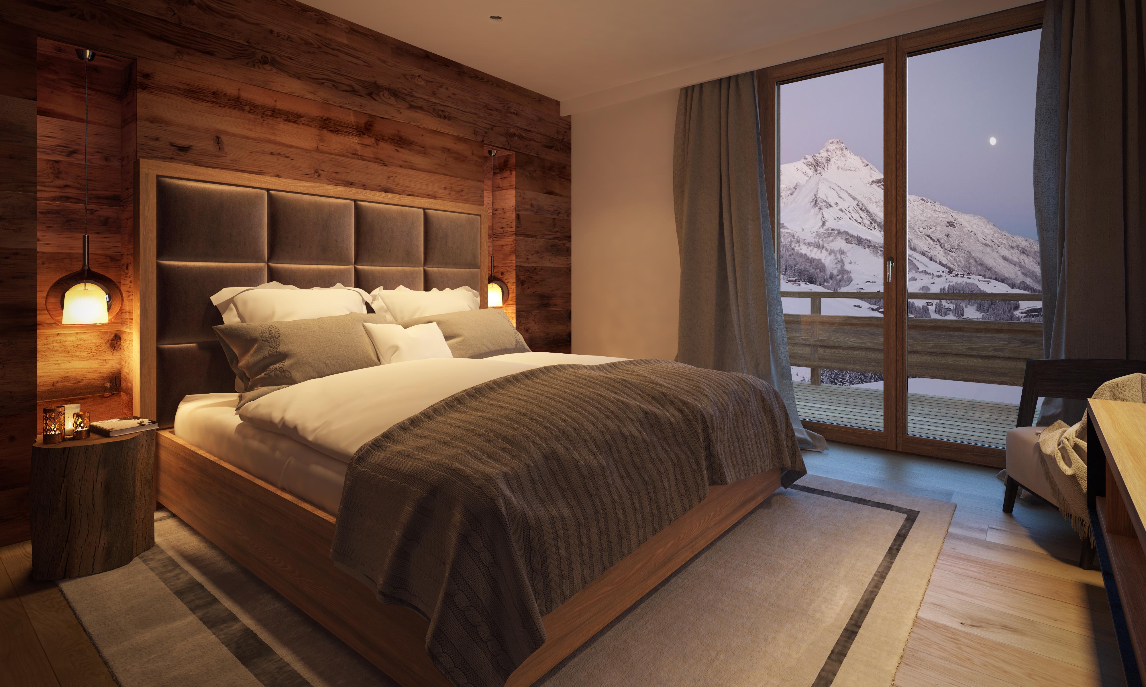 Chalet (6-10P.) 3 Schlafzimmer+3 Bäder | Lux-Alp Chalet Warth am Arlberg