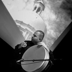 George Oro Arab Percussion With Feras Charestan Qanun- Frame Drum- Riq- Darbuka-Doholla