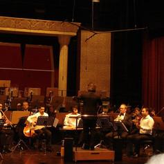 George Oro With Qatar Philharmonic Orchestra - Arab Percussion-George Oro With Maqam Ensemble-Arab Percussion-Frame Drum-Darbuka- Dohulla- Riq- Drums