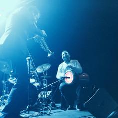 George Oro Jazz at Lincoln Center -Arab Percussion-Frame Drum-Darbuka- Dohulla- Riq- Drums
