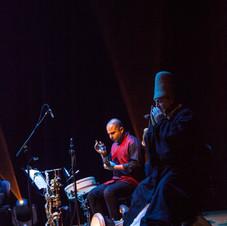 George Oro Arab Percussion With Broukar- Frame Drum- Riq- Darbuka-Doholla