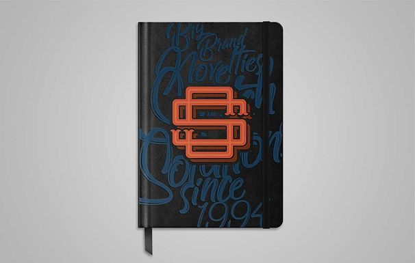Digital UV Printing onto Notebooks