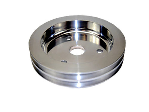 CHEVY SB Crank Pulley Double Groove 6.562 Dia