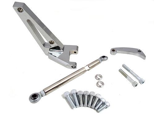 SB Chevy Alternator Bracket SWP PolishedChrome Kit