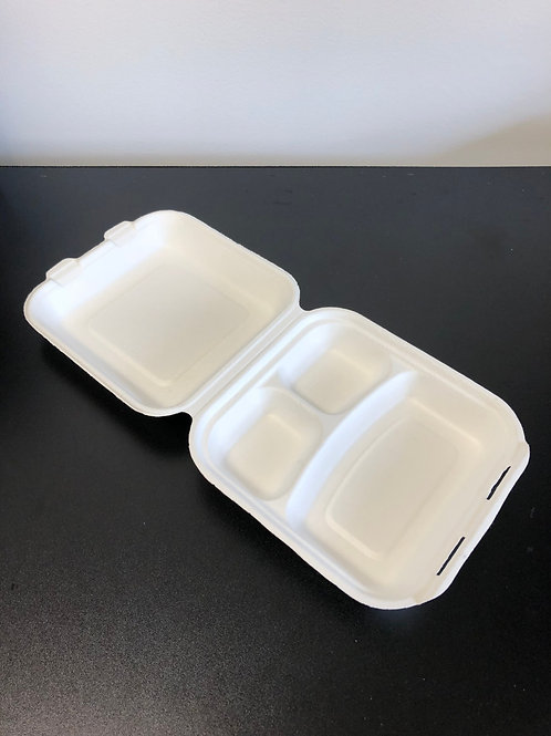 3 Compartment Paper Box