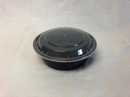 "7"" Deep Round Microwaveable Plastic Bowl, 150pc"